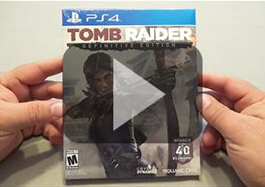 《古墓丽影9:最终版》PS4纸盒版拆封视频