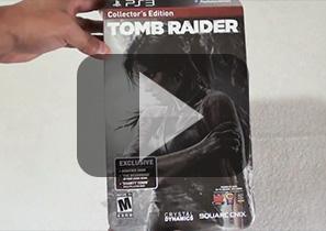 美国发行《古墓丽影9》百思买版Xbox360珍藏版拆封视频