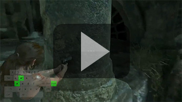 《古墓丽影:崛起》捷径按键方法演示