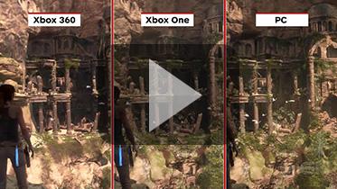 《古墓丽影10:崛起》PC版、Xbox One版和Xbox 360画质对比视频