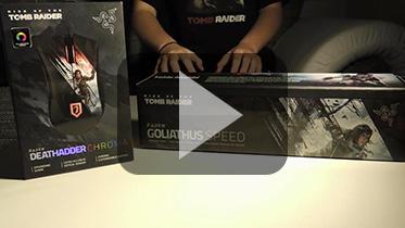 雷蛇《古墓丽影:崛起》鼠标及鼠标垫拆封视频
