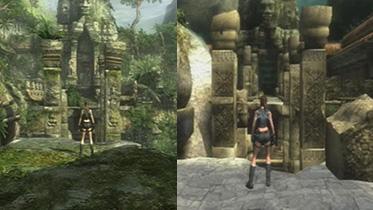 《古墓丽影8:地下世界》PS3高清重制版与PS2版对比截图