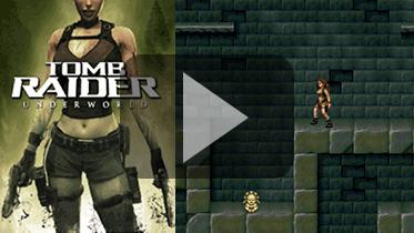 手游Java ME 2D版《古墓丽影:地下世界》游戏展示