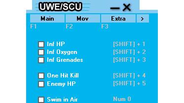 《古墓丽影8》全能修改器:UWESCU