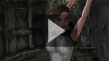 《古墓丽影8》劳拉举手BUG