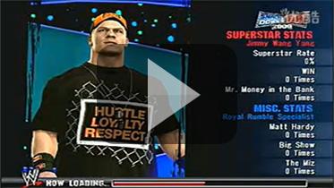 """劳拉穿越到""""美国职业摔角联盟 2009""""大战阿曼达"""