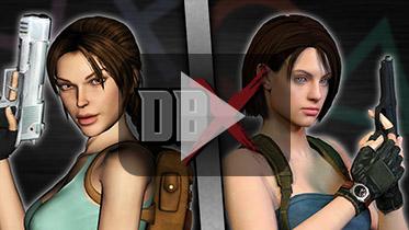 劳拉大战吉尔(Lara Croft VS Jill Valentine)