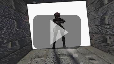 1996年《古墓丽影1》早期宣传先导视频