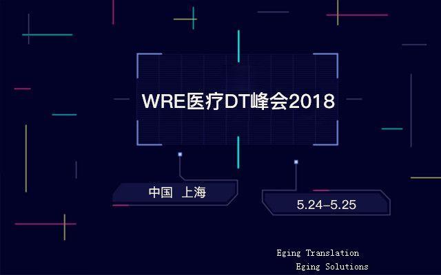 WRE医疗DT峰会2018口译火热预约中