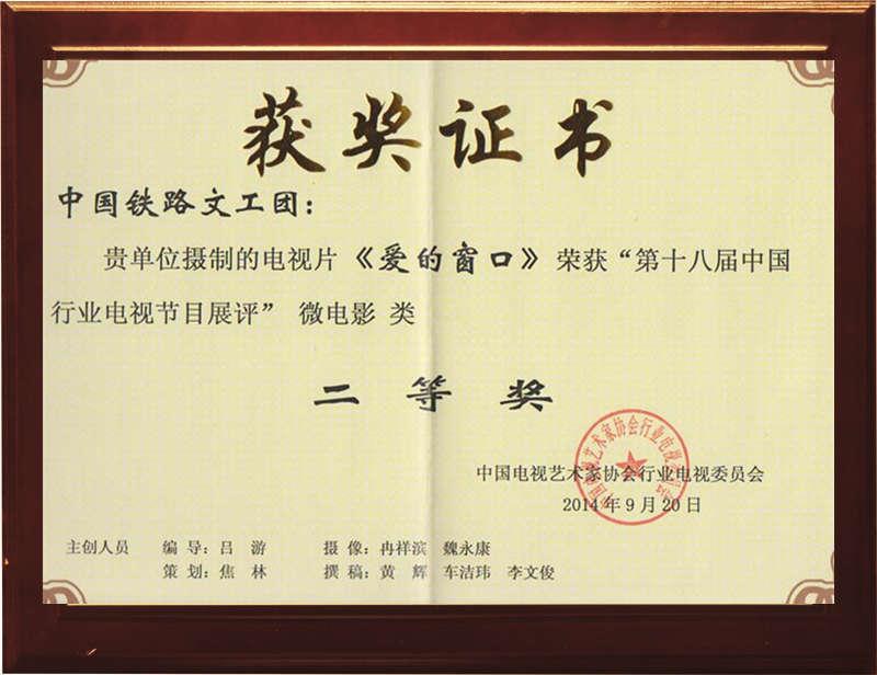 微电影二等奖