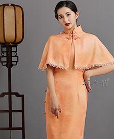 巧之韵秋香曲悠,民国传统老旗袍,平肩小连袖旗袍,古法平裁通袖旗袍,正绢旗袍