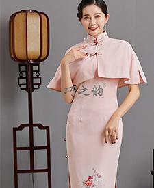 巧之韵芋香曲悠,民国传统老旗袍,平肩小连袖旗袍,古法平裁通袖旗袍,正绢孤品旗袍