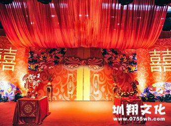 中式婚礼,中式婚礼方案,大红色风格