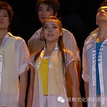 当代舞演出服 毕业照 青春现代舞蹈舞台表演服装