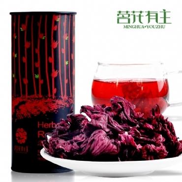 茗花有主 玫瑰茄 花茶加盟代理一件代发