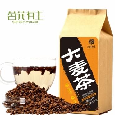 茗花有主 大麦茶300克 花茶加盟代理一件代发