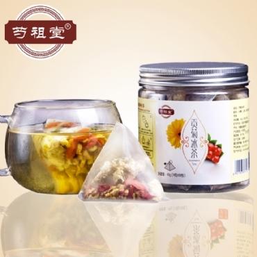 芍祖堂 贡菊冰茶 花茶加盟代理一件代发