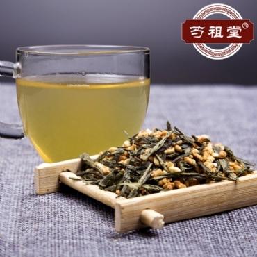 芍祖堂 玄米绿茶 花茶加盟代理一件代发