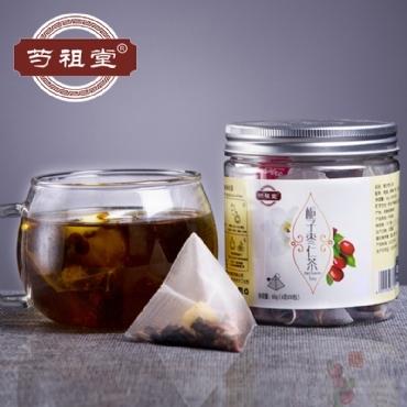 芍祖堂 栀子枣仁茶 花茶加盟代理一件代发