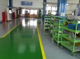 环氧树脂普通型防静电地坪涂装系统