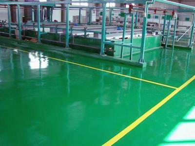 环氧树脂自流平地坪涂装系统