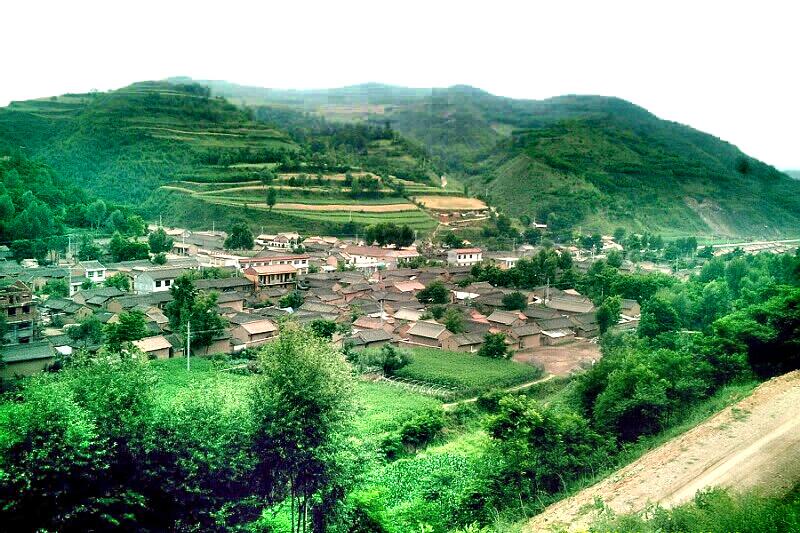 百家村村貌(南部)