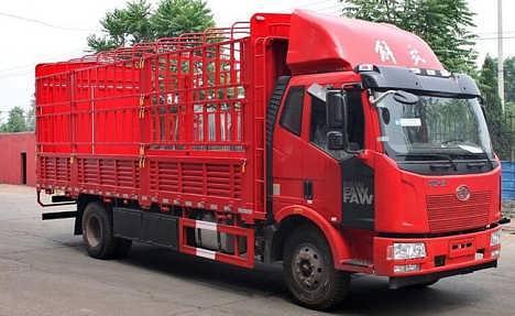 自贡物流公司-4.2米高栏运输车型