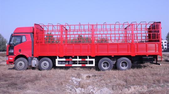 甘孜物流公司-9.6米高栏运输车型
