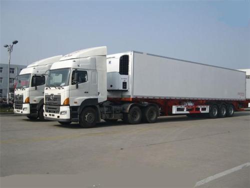 甘孜物流公司-冷藏运输车型